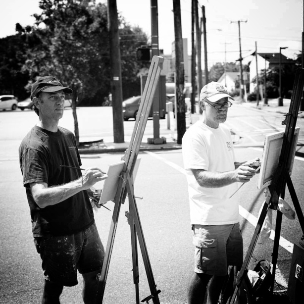 Painters on Cary Street_Snapseed